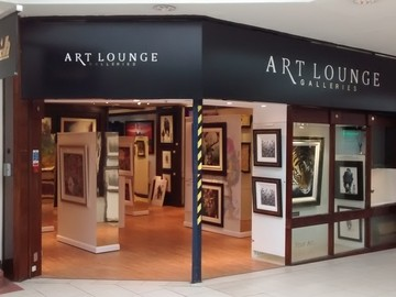 Frontage of the Art Lounge