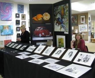 Arts Fair stall