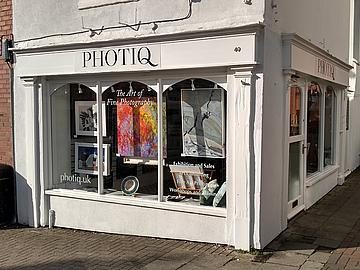 Frontage of PHOTIQ Gallery