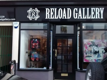 Frontage of Reload Gallery