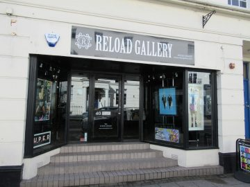 Frontage of Reload Gallery on Warwick St